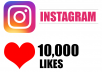 Add 10,000 Instagram Photos/Post Likes, 100% non drop
