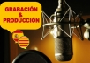 Record & Producer Voice Over For Your In Castilian Barcelona Spanish.