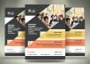 design professional flyers or brochure and trifolds