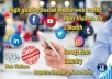 send social media traffic with real visitors