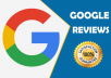put a positive review on Google