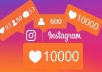 send you 5000 likes or view to your Instagram Post