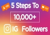 give you 4,000 Instagram followers cheapest delivered in 1-5 hours
