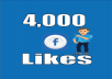 give you 4,000+ real Facebook fanpage likes