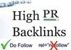 place 4 permanent link of your website in my blogroll, on 2 PR2, 2 pr1
