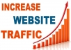 provide you 50,000 real website traffic