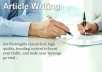 Write Compelling Articles, Web and Blog content in ONLY 24hours!!!