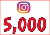 Real 5,000 Instagram followers guarantee 24hr delivery