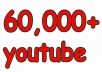Get 60,000 Real Human Youtube Views With None Drop Lifetime Guarantee