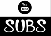 give you 600 youtube genuine human high quality subscribers