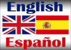 Translate Your Image Text 600+ Word English To Spanish Today