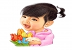 Create Awesome Digital Cartoon Caricature from Photo