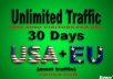 provide 1000 daily,real,adsense safe,USA  website traffic KEYWORD ,ORGANIC,SOCIAL for 30 days