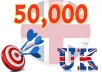 Give you 40,000 Uk Real/Human/Unique Visitors safely.