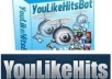 I will give you an UPDATED 2012 YouLikeHits iMacros script to gain automated points and show you how to make extra cash with it