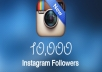 Provide 10,000+ Instagram Followers, organic, permanent, real, high quality, safe