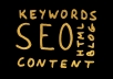 generate a list of long tail keyword ideas to help you dominate your niche