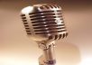 do short voice acting services (read description for specific categories and specialties)