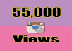 Provide You 55,000 Instagram Video Views