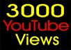 Add 5000 YouTube Views High Retention Non Drop