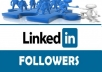 Give Best Quality 100 USA People Linkedin Followers Your Profile or Page