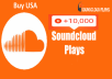 Buy Top 15,000 USA Quality Soundcloud plays