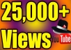 Give Up 25,000 YouTube Video Views