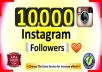 deliver10,000 Instagram followers