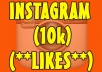 add 10,000 Instagram likes