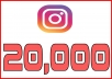 I will provide you 20,000+ Non Drop Instagram Followers Great Service – Fast Delivery – High Quality – 100% SAFE…….  For more Followers, please see the Order Additional.   My services: •Delivery within Offered Time •Service from All over the World •I can Generate Targeted Followers  •All services are Organic. •No Bots. •Satisfaction Guaranteed.