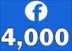 Add 4,000+ Facebook NON drop Followers