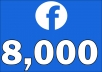 Add 8,000+ Facebook NON drop Followers
