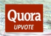 give you 100 Worldwide Quora UpVotes your answer