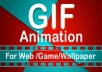 I will create quality GIF animation for you.