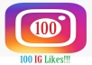 Give you 100 INSTAGRAM LIKES within 24 hours.