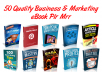 Send You 50 Quality Business And Marketing Ebook, Plr And Mrr Part 1