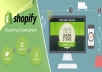 develop a basic shopify dropshipping store