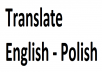 translate English-Polish