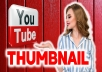 create professional and eye-catching thumbnails for your channel