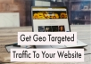 Send You 2000 Super Targeted Geo Traffic US UK AU World Wide Traffic