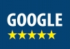 provide Google reviews on your page