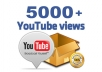 PROVIDE 5000+ NON DROP HIGH QUALITY YOUTUBE VIEWS