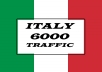 send Italy  traffic to your website