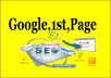 Top Up Google Rank 1st Page And 400k Backlinks your Website