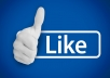 Provide 1700 facebook real page likes