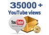 Provide 35000+ High Quality Views instant Start