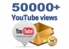 Provide 50000+ High Quality Views instant Start
