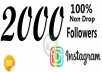 provide 2000 instagram followers