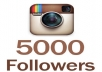 I will give you 5,000 Instagram Followers. The followers come in quick and safe. - No Password Needed - 100% Safe & Reliable - 20 Day Refill Guarantee - Fast Delivery!