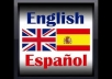 translate 200 words from English to Spanish